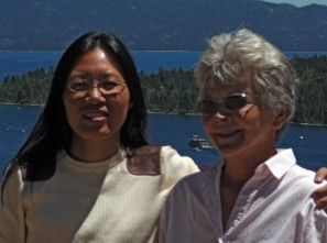 Visiting Lake Tahoe with Qi Deng